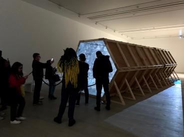 Laura Buckley's interactive large-scale kaleidoscope Fata Morgana